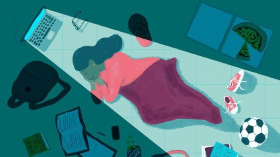 Ngủ bù chẳng thể giúp bạn cảm thấy sảng khoái hơn đâu.