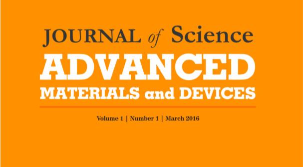 Trang bìa tạp chí JSAMD.
