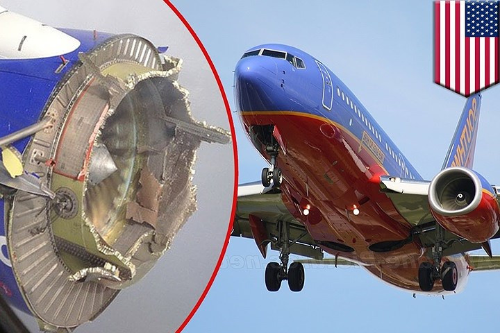 Động cơ máy bay phát nổ