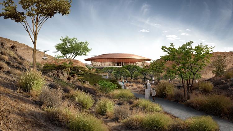Các tòa nhà và kiến trúc cảnh quan nơi đây đều được thiết kế để đáp ứng tiêu chuẩn quốc tế về kiến trúc xanh LEED
