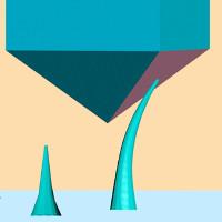 Các nhà khoa học tạo ra kim cương dạng sợi nano, có thể bẻ cong mà không lo bị gãy