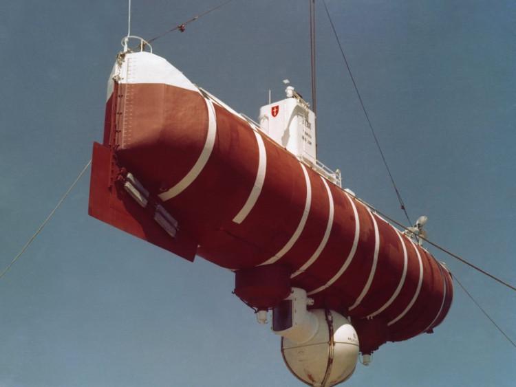 """Tàu lặn có tên """"Trieste"""""""