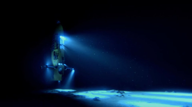 """Chiếc ROV có tên """"Hercules"""" đã được thiết kế và chế tạo để dành riêng cho mục đích nghiên cứu khoa học."""