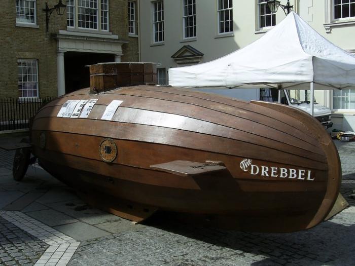 Thực tế thì không ai biết tàu của Drebbel có hình dạng thực sự thế nào.