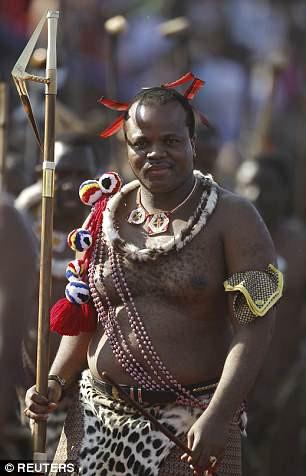 Vua Mswati III.