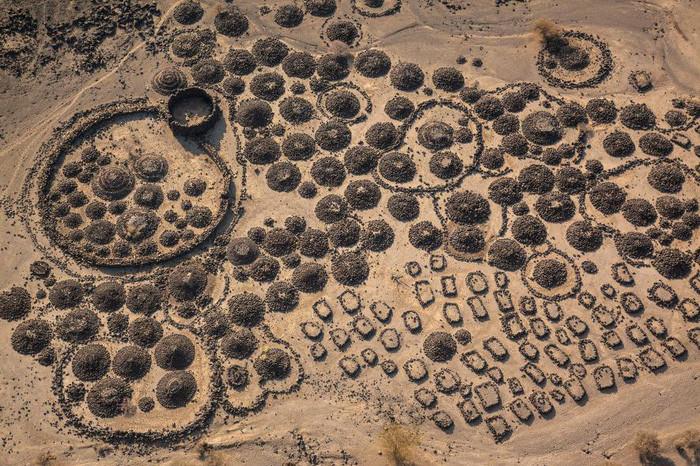Nghĩa trang và trại sinh sống của tộc người Afari