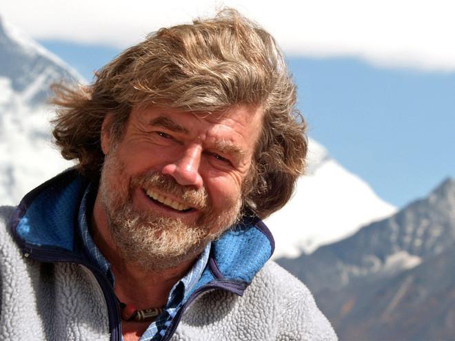 Huyền thoại leo núi người Ý Reinhold Messner.