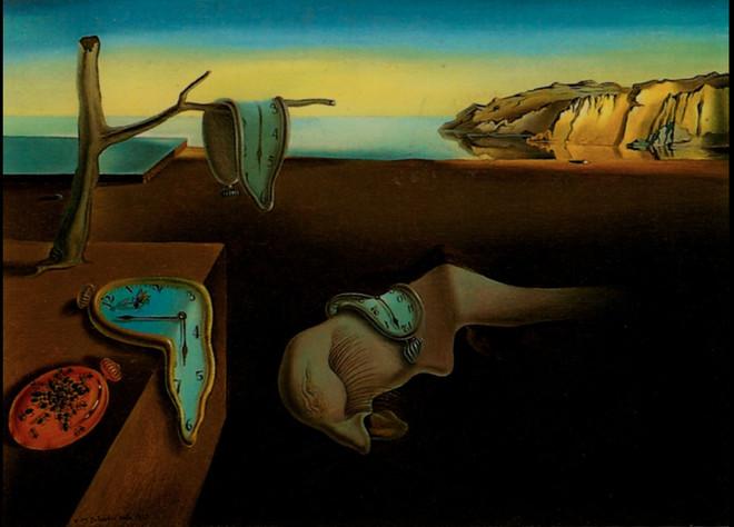 Bức tranh nổi tiếng của Salvador Dalí.