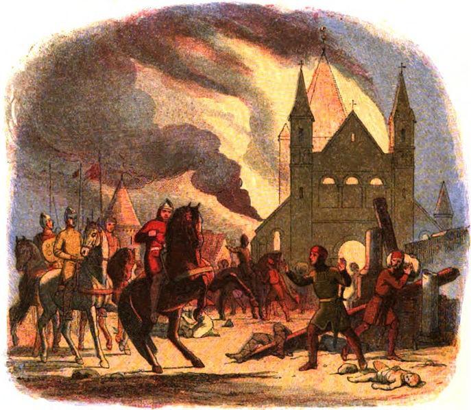 Bạo chúa William đã ngã ngựa trong cuộc viễn chinh nước Pháp.