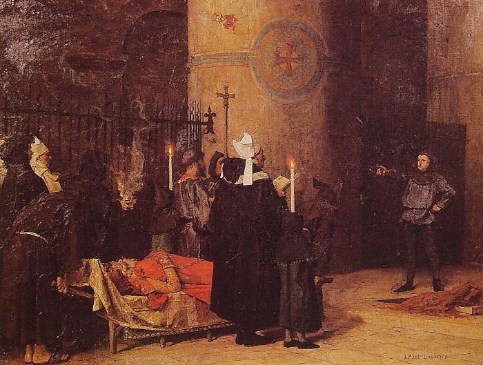Người dân đến đòi đất ngay trong đám tang của vua.