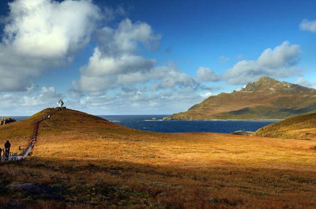 Mũi Cape Horn – nơi gặp nhau giữa Đại Tây Dương và Thái Bình Dương.