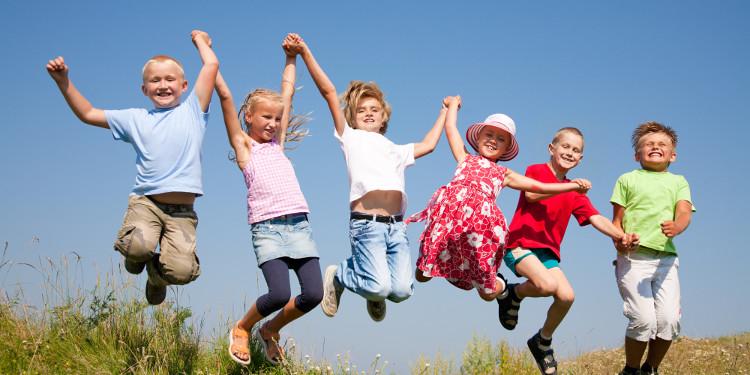 Cơ bắp của trẻ em hồi phục rất nhanh sau khi tập các bài cường độ cao.