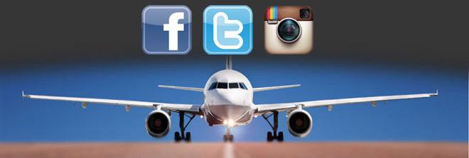 Sử dụng mạng xã hội để lựa chọn người ngồi cạnh bạn trên chuyến bay
