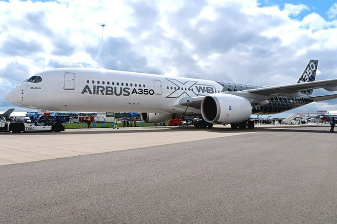 Dòng Airbus A350-900 XWB hiện đang được sử dụng khá rộng rãi trên thế giới.