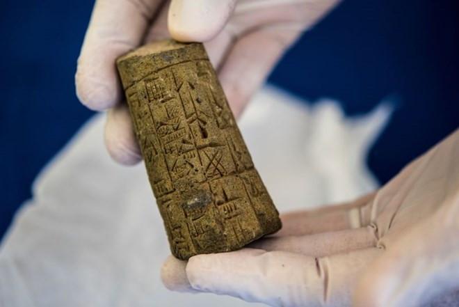 Một cổ vật của Iraq.