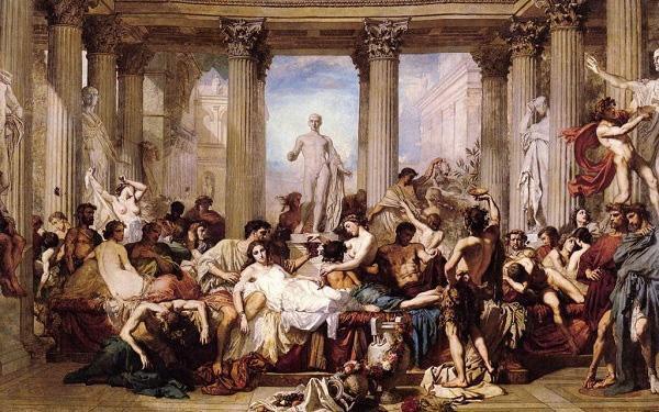 Dưới đế chế La Mã, mại dâm được coi như một nghề nghiệp được thừa nhận.