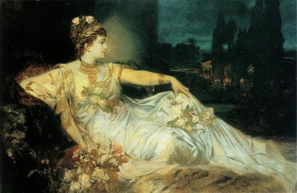 """Messalina – vợ của hoàng đế La Mã Claudius hành nghề gái mại dâm khi đã là """"mẫu nghi thiên hạ""""."""