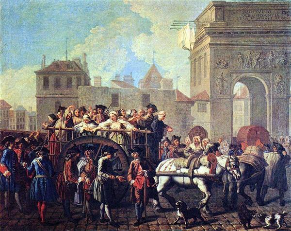 Thời Trung cổ, mại dâm bị cấm ở châu Âu bởi giáo hội.