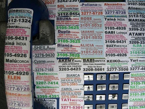 Tại các nước này, thậm chí người ta còn quảng cáo dịch vụ mại dâm thông qua báo chí, tạp chí