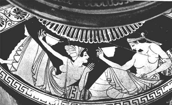 Thời thượng cổ ở Hy Lạp (2.700 năm trước), nghề mại dâm vô cùng phổ biến và công khai.