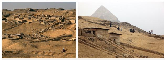 Những người xây kim tự tháp Giza được cho là thợ tổ chức quy củ chứ không phải nô lệ.