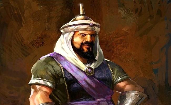 Hồi vương Saladin nổi tiếng là vị vua anh minh thời cổ đại.