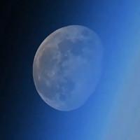 Mặt Trăng lặn nhìn từ ngoài vũ trụ