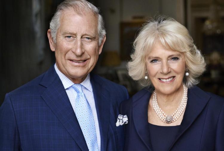 Thái tử Charles - Thân vương xứ Wales và Camilla - Nữ công tước xứ Cornwall.