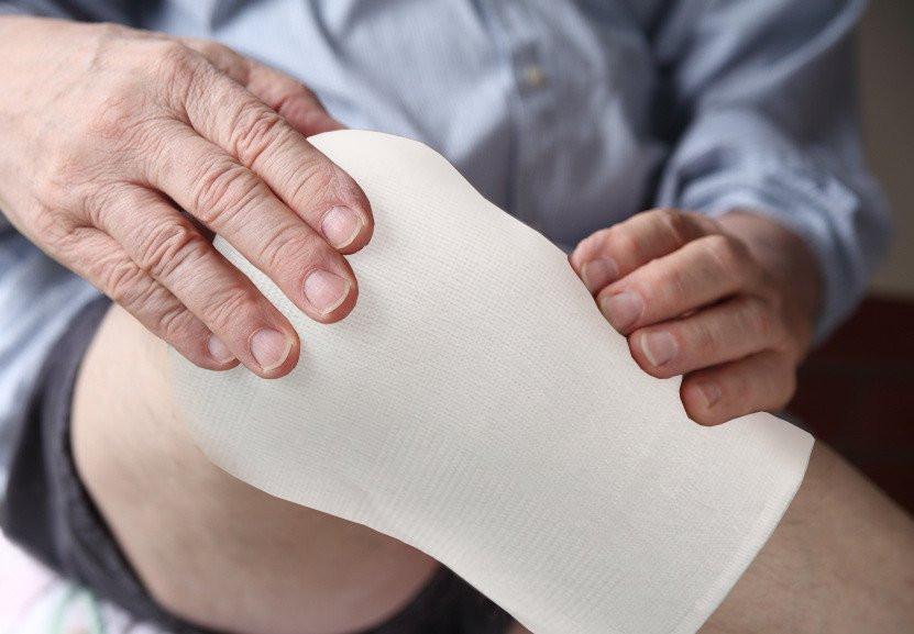 Một vết thương băng bó tốt không bị nhiễm trùng.