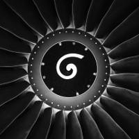 Hình trôn ốc trên động cơ máy bay? Phải chăng người ta vẽ cho vui?