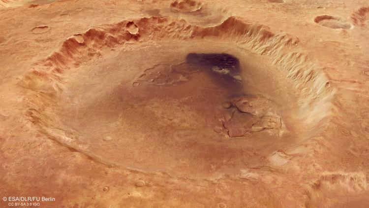 Miệng núi lửa này rộng đến hơn 100km