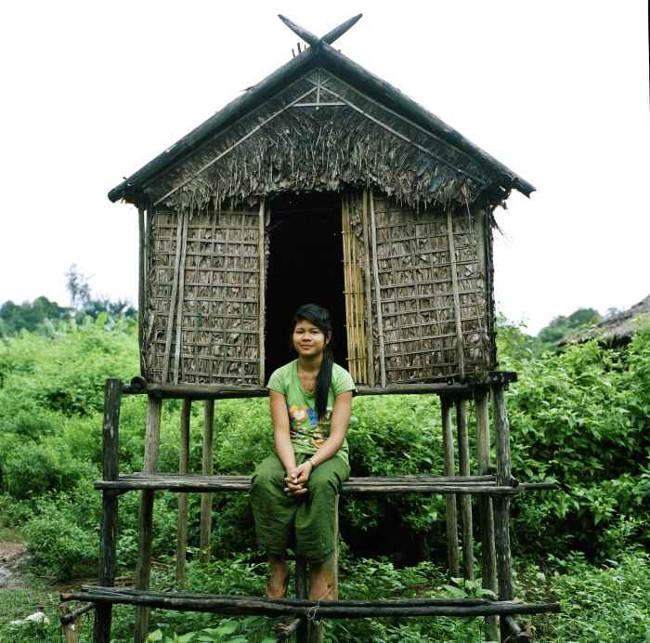 Một căn chòi tình yêu ở bộ lạc Kreung.