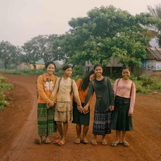 Nang Chan nói các cô gái Kreung rất mạnh mẽ.
