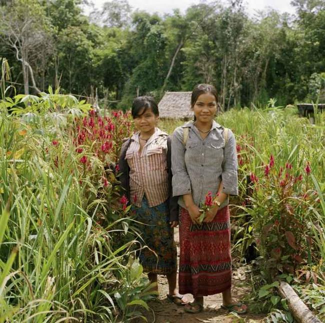 Người Kreung chủ yếu làm nông.
