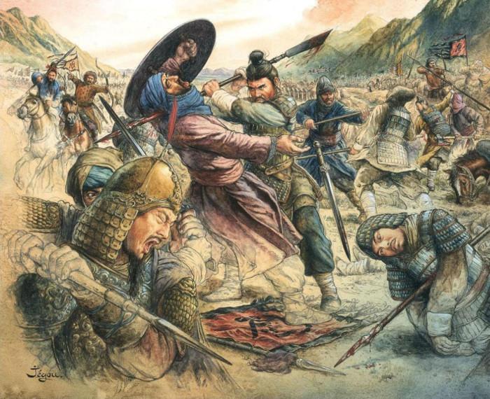 Nhà Đường hùng mạnh từng thảm bại trước đế chế Hồi giáo.