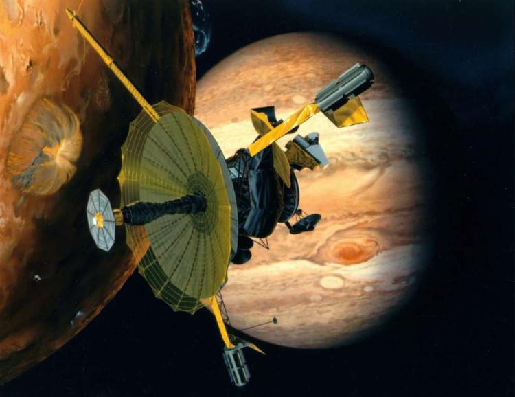 Tàu Galileo đã bay qua một cột nước khổng lồ phát ra từ Europa.
