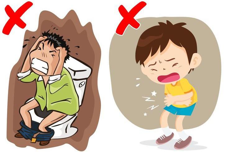 Uống nước lạnh dẫn đến rối loạn dạ dày, đau bụng.