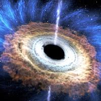 """Siêu hố đen lớn gấp 20 tỷ lần Mặt Trời """"ăn"""" sao liên tục"""