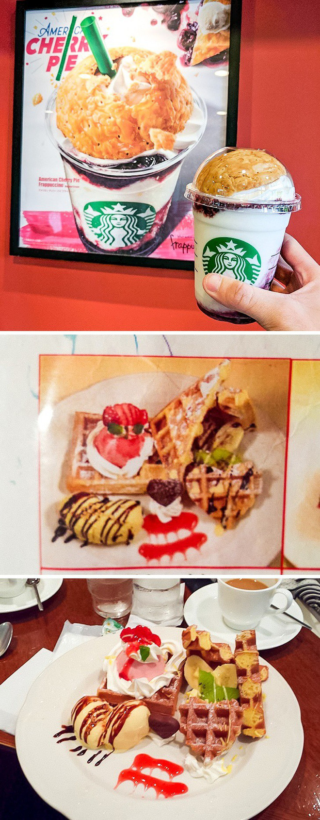 Hình ảnh trên bao bì giống hệt với món ăn khách hàng nhận được