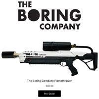 Chết cười với điều khoản sử dụng súng phun lửa vô cùng hài hước của Elon Musk