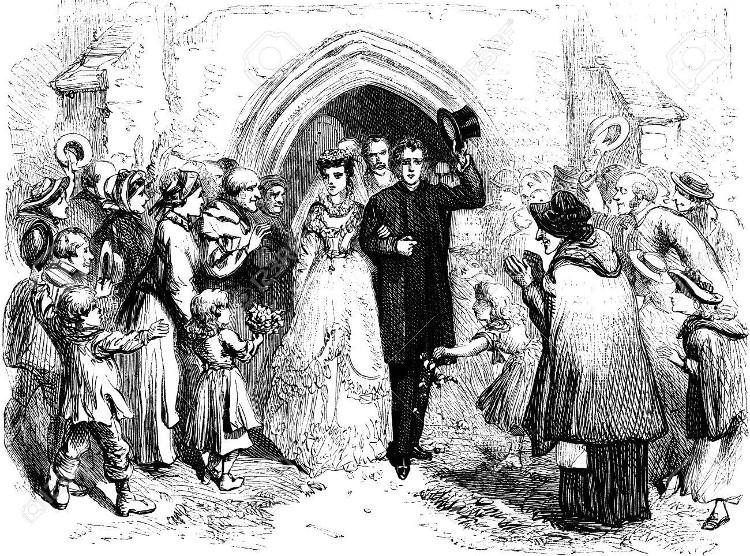 Cô dâu mang theo mình bó hoa là để tránh những linh hồn ma quỷ quấy rầy.