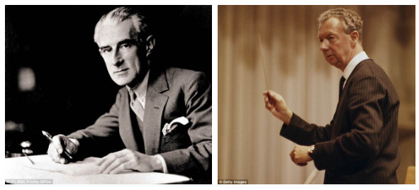 Ravel và Britten.