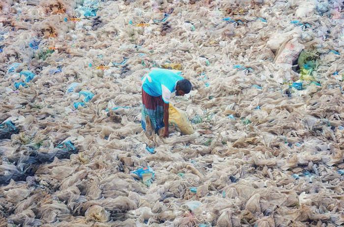 Phần lớn rác thải nhựa hiện không được tái chế