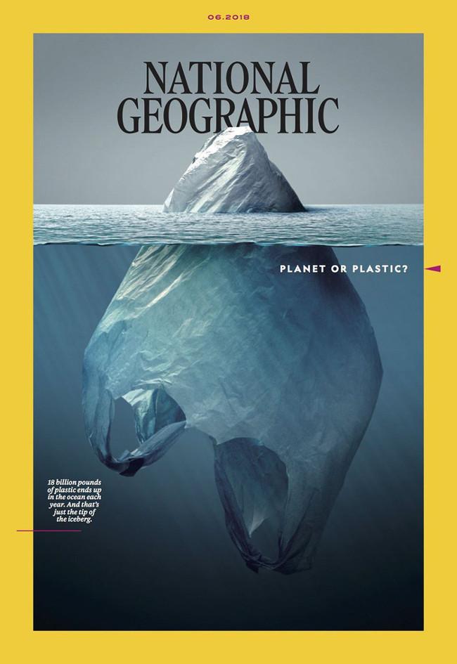 Bìa ấn phẩm mới nhất của National Geographic gây ấn tượng mạnh cho người xem.