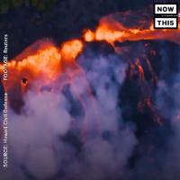 Điều gì xảy ra khi dung nham núi lửa chảy xuống biển?