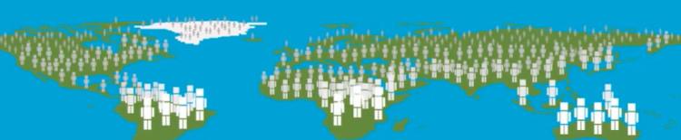Dân số thế giới sẽ tăng lên 10 tỷ người vào cuối thế kỉ 21.