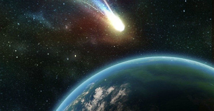 Khoảng 66 triệu năm trước, một tảng thiên thạch khổng lồ đã va vào Trái đất.