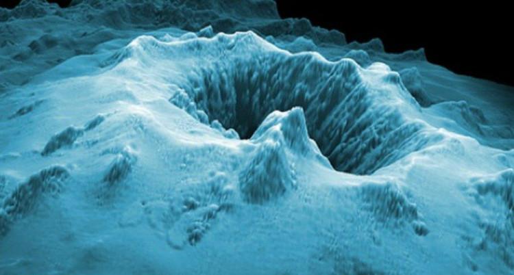 Núi lửa dưới biển hiếm hơn núi lửa trên cạn.