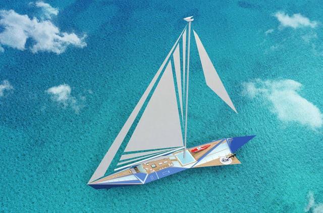 Siêu du thuyền của Lucian có sức chứa cho 24 người