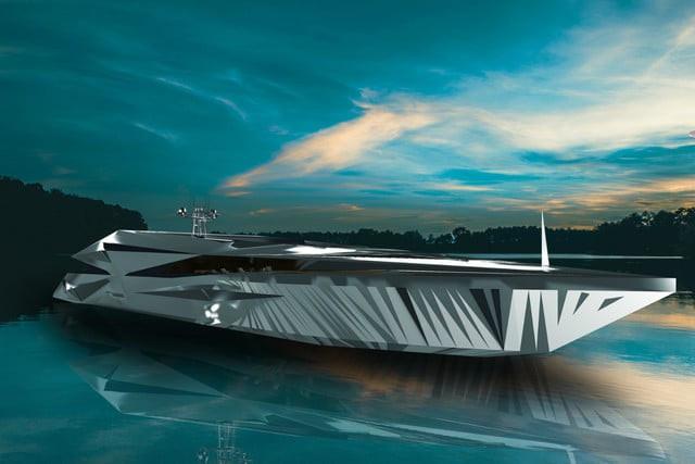 Mà đây chỉ là concept về siêu du thuyền chứ không phải là một sản phẩm thực tế đâu nhé.